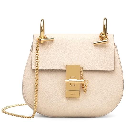9bf8b0ff3f1 Chloe Bags | Chlo Mini Drew Shoulder Bag Abstract White | Poshmark